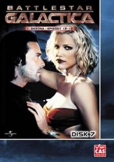 Battlestar Galactica - disk 7 - 1.sezona, epizody 12-13 - DVD