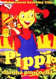 Pippi dlouhá punčocha- kreslený film - DVD