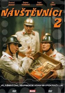 Návštěvníci - 2 (český seriál) - DVD