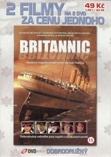 Britannic + Smrtící skály - DVD