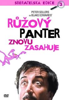Růžový panter znovu zasahuje - DVD