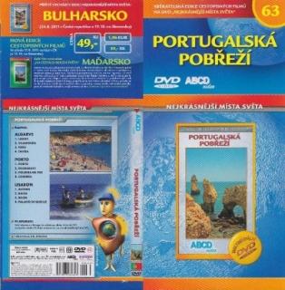 Nejkrásnější místa světa 63 - Portugalská pobřeží - DVD