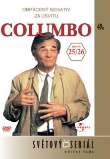 Columbo 25/ 26 - Obrácený negativ/ Za úsvitu - DVD
