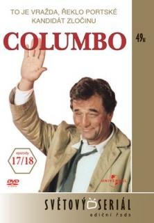 Columbo 17/ 18 - To je vražda, řeklo portské/ Kandidát zločinu - DVD
