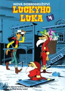 Nová dobrodružství Luckyho Luka 4 - DVD