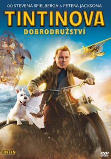 Tintinova dobrodružství - DVD plast