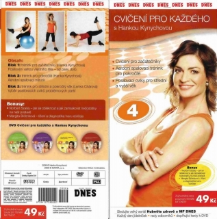 Cvičení pro každého s Hankou Kynychovou 4 - DVD