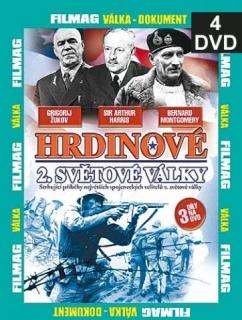 Hrdinové 2. světové války 4 - DVD