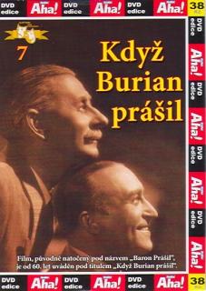 Když Burian prášil - DVD