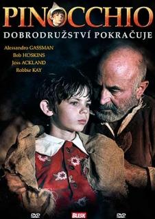 Pinocchio - Dobrodružství pokračuje - DVD