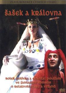 Šašek a královna - DVD