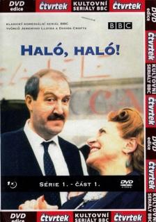 Haló, Haló 1. série - 1. disk - DVD
