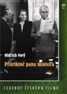 Přítelkyně pana ministra - DVD
