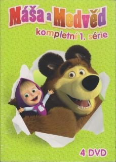 Máša a medvěd (série 1-4) DVD
