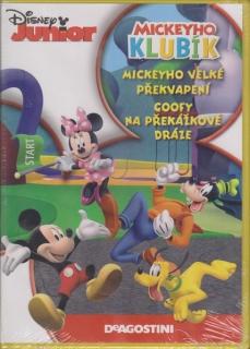 Mickeyho klubík: Mickeyho velké překvapení a Goofy na překážkové dráze - DVD