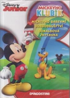 Mickeyho klubík: Mickeyho barevné dobrodružství, Donaldova Škytavka - DVD