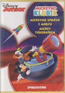 Mickeyho klubík: Mickeyho zpráva z Marsu, Mickey Táborníkem - DVD