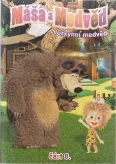 Máša a medvěd 8 - Jeskynní medvěd - DVD