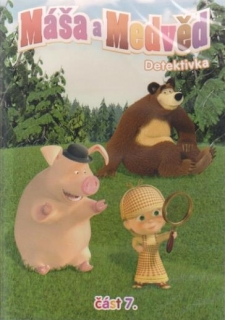 Máša a medvěd 7 - Detektivka - DVD