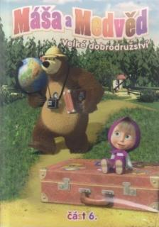 Máša a medvěd 6 - Velké dobrodružství - DVD