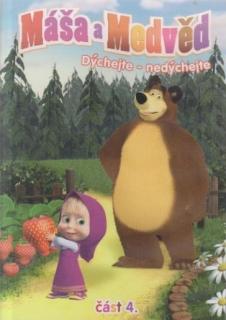 Máša a medvěd 4 - Dýchejte-nedýchejte - DVD