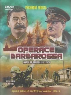 Operace Barbarossa, invaze do sovětského svazu - DVD
