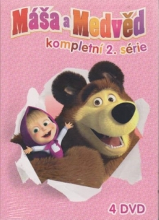 Máša a medvěd (série 5-8) - DVD
