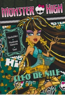 Monster high - vše o Cleo De Nile+samolepky