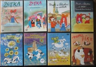 Kolekce Pohádek z večerníčků - 8x DVD