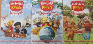 Kolekce Medvídek Rupert 3x DVD