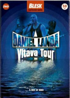 Daniel Landa - Vltava Tour - DVD pošetka