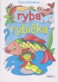 Omalovánky A5 - Ryba, rybička