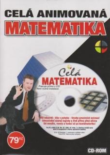 Matematika - celá animovaná - CD-ROM
