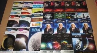 Velká kolekce Vesmír - 33 DVD