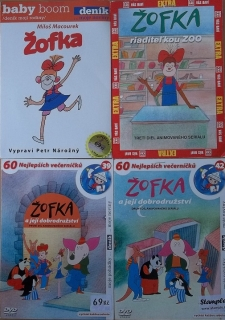 Kolekce Žofka 3DVD + 1CD