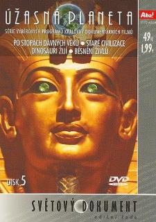 Úžasná planeta disk 5 - Po stopách dávných věků - DVD