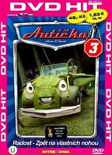 Autíčka 3 - DVD