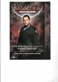 Battlestar Galactica - disk 10 - 4.sezóna - DVD