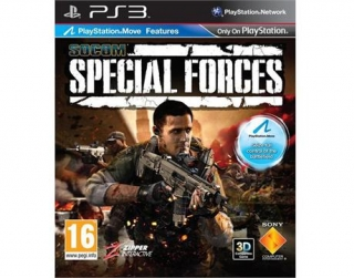SOCOM SPECIAL FORCES - PS3 - DVD