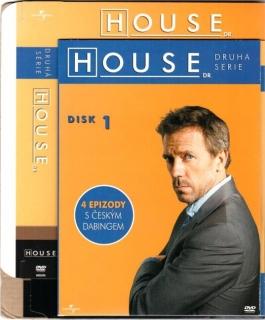 Dr. House - 2. série, disk 1 - DVD