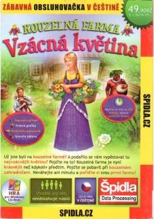 Kouzelná farma - vzácná květina - CD Hra