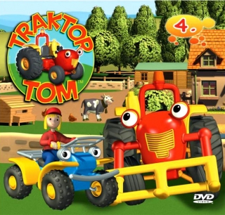 Traktor Tom 4 ( pošetka ) DVD