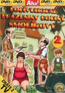 Podivuhodné prázdniny rodiny Smolíkovy 2 - DVD