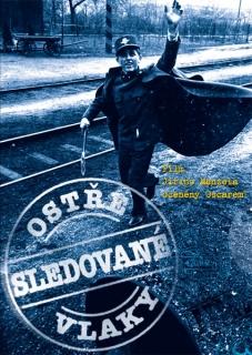 Ostře sledované vlaky ( pošetka ) - DVD