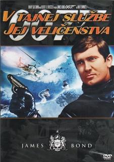 James Bond - Ve službách jejího veličenstva - DVD