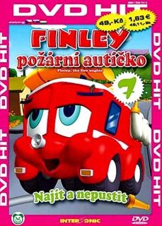 Finley - požární autíčko - 7 - DVD