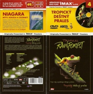 IMAX - 4 - Tropický deštný prales - DVD