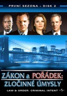 Zákon a pořádek: Zločinné úmysly - disk 2 - DVD