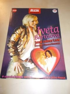 Iveta Bartošová-Jsem zpátky live - DVD