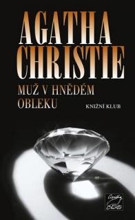 Muž v hnědém obleku-Agatha Christie(bazarové zboží)